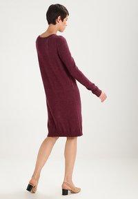 Vila - Jumper dress - fig/melange - 3