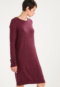 Vila - Jumper dress - fig/melange - 0