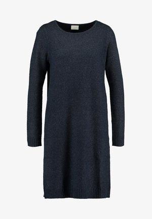 Pletené šaty - total eclipse melange