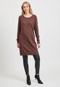 Vila - Jumper dress - puce - 1