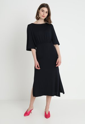 VINOTA SLEEVE DRESS - Maxi-jurk - total eclipse