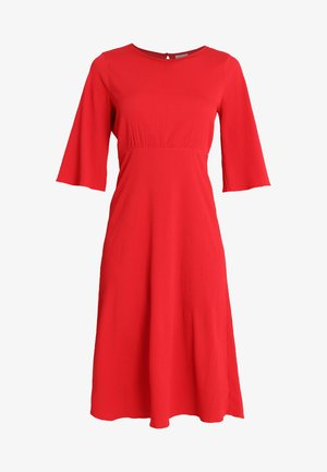 VIBLAME SLEEVE DRESS - Denní šaty - racing red