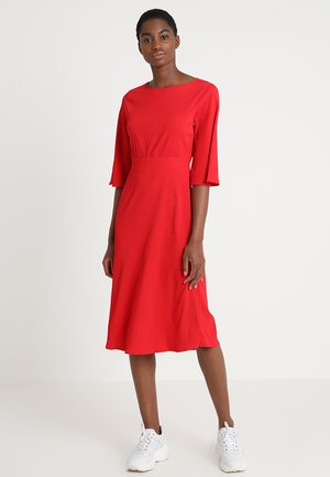 VIBLAME SLEEVE DRESS - Vestito estivo - racing red