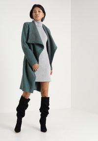 Vila - Jumper dress - light grey melange - 2