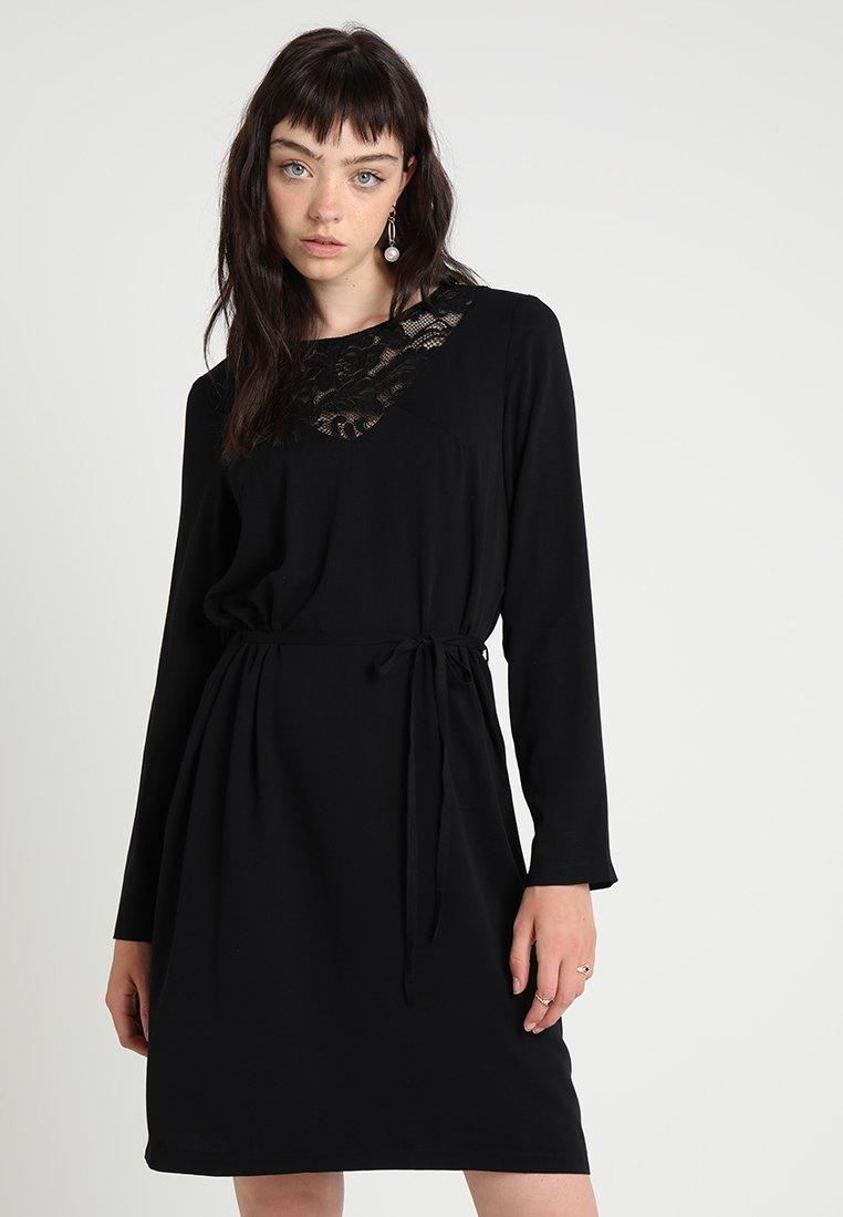 Vila - VIEVERLY DRESS - Hverdagskjoler - black