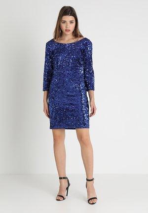 VIGLITZ 3/4 SLEEVE DRESS - Vestido de cóctel - clematis blue