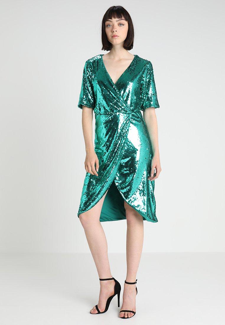 Vila - VILILJA SHORT DRESS - Cocktailkleid/festliches Kleid - pine grove