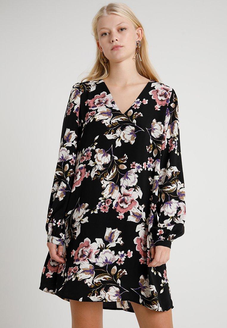 Vila - VILIENNA  DRESS - Day dress - black