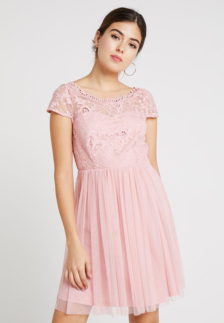 Vila - VIULRICANA SHORT DRESS - Cocktailkleid/festliches Kleid - bridal rose