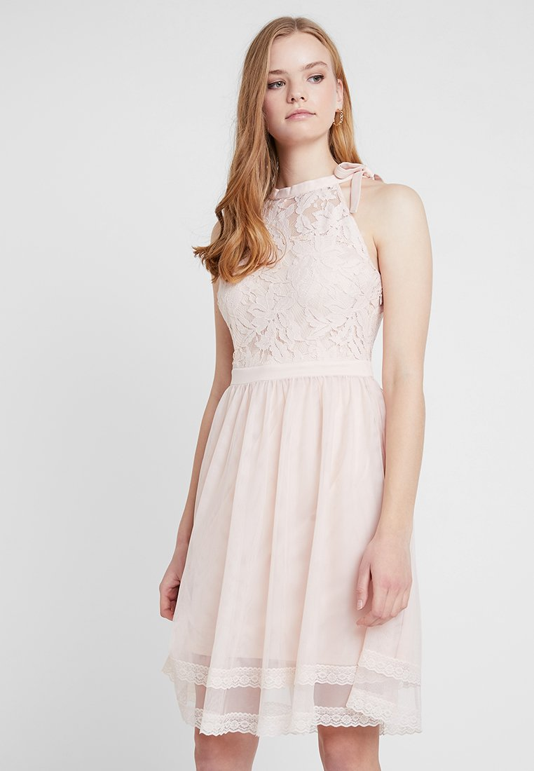 Vila - VIZINNA DRESS - Cocktailkleid/festliches Kleid - peach blush