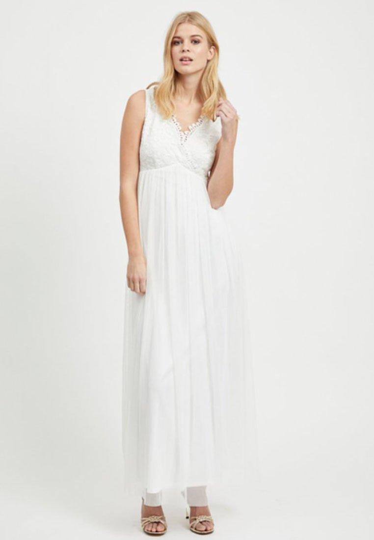 Vila - VIULRICANA MAXI DRESS - Occasion wear - off white