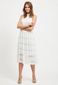 Vila - SPITZEN - Maxi dress - offwhite - 1
