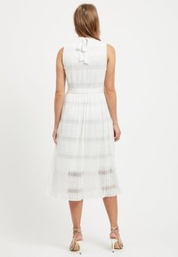 Vila - SPITZEN - Maxi dress - offwhite - 2