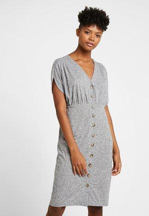 VIERA MIDI DRESS - Sukienka z dżerseju - light grey melange