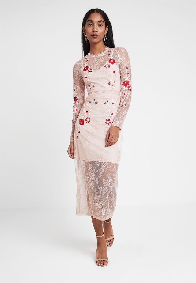 VIBRODIA ANKLE DRESS - Occasion wear - rose smoke