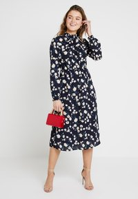 Vila - VILLUM DRESS - Kjole - navy blazer - 1