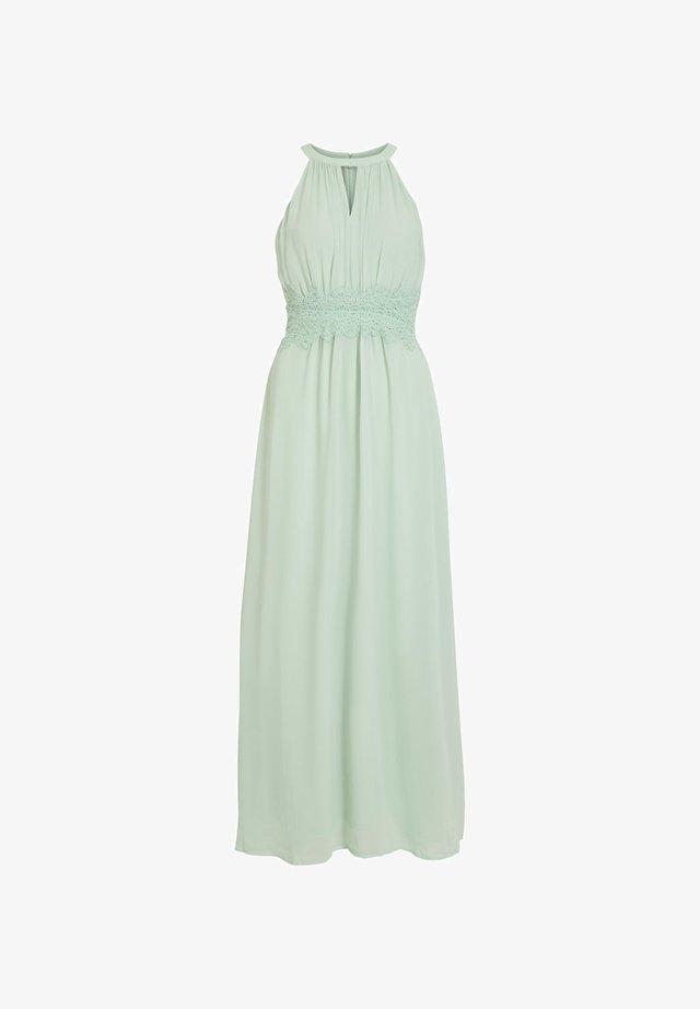 VIMILINA - Vestito lungo - cameo green