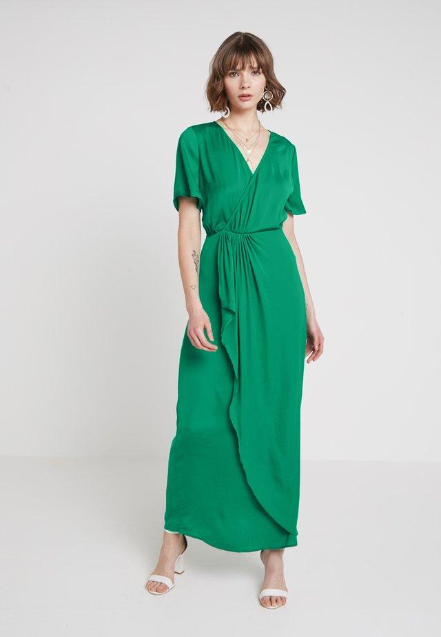 VIFLOATING ANKLE DRESS - Galajurk - pepper green