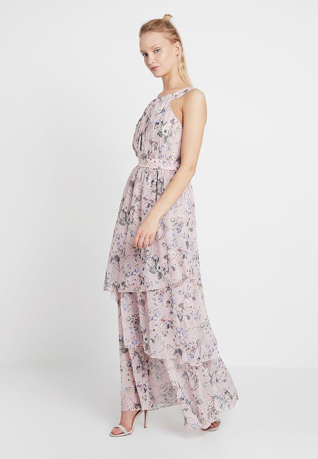VINOLA LAYER DRESS - Festklänning - rose smoke