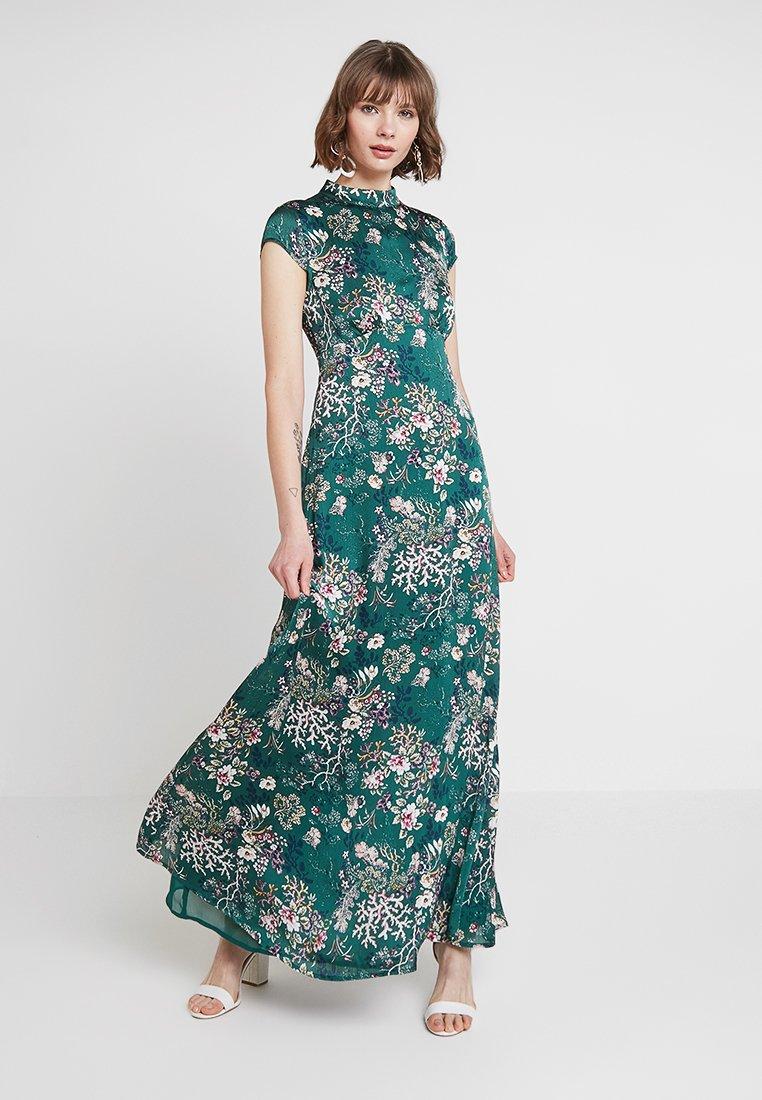 Vila - VIGILLAS CAP SLEEVE DRESS - Maxi dress - garden topiary