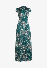 Vila - VIGILLAS CAP SLEEVE DRESS - Maxi dress - garden topiary - 4