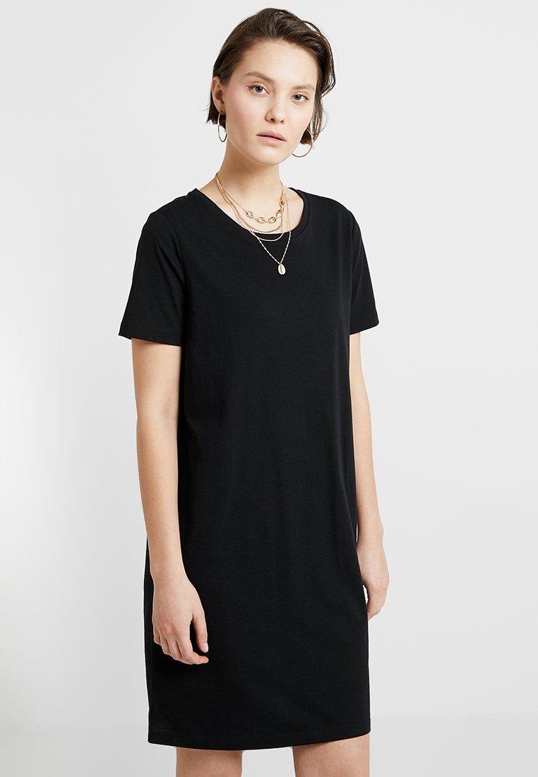 Vila - VIDREAMERS  - Žerzejové šaty - black