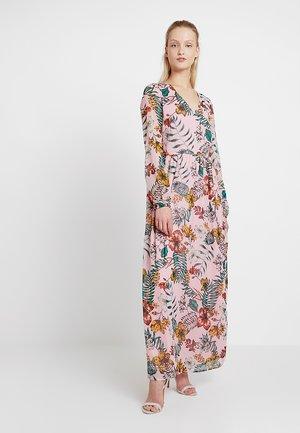 VINAURA MONARIA ANCLE DRESS - Maxi dress - begonia pink/combo