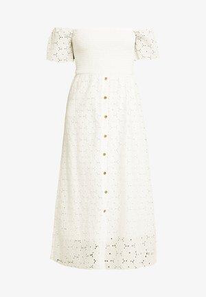 VICOMU DRESS - Maxiklänning - snow white