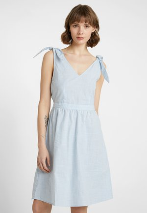 VIGLADYS DRESS - Denní šaty - snow white/powder blue