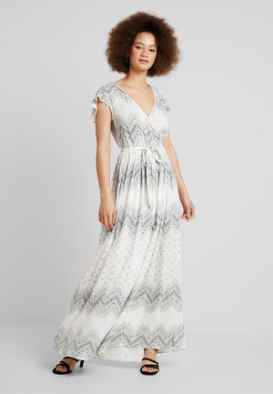 VICAMIL DRESS - Maxi šaty - cloud dancer/grey print
