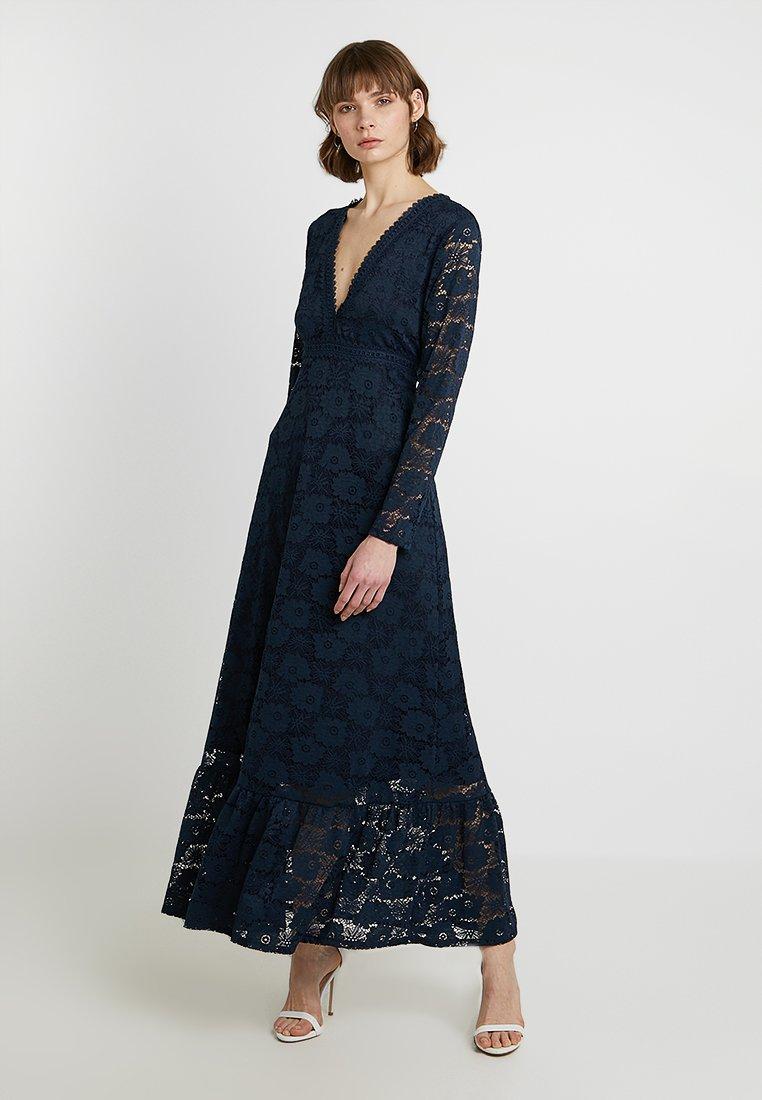 Vila - VIARAVANI ANKLE DRESS - Ballkleid - navy blazer