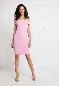 Vila - VIATHALIA DRESS - Robe fourreau - begonia pink - 1