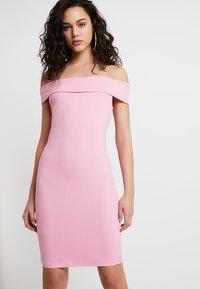 Vila - VIATHALIA DRESS - Robe fourreau - begonia pink - 0
