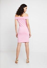 Vila - VIATHALIA DRESS - Robe fourreau - begonia pink - 2