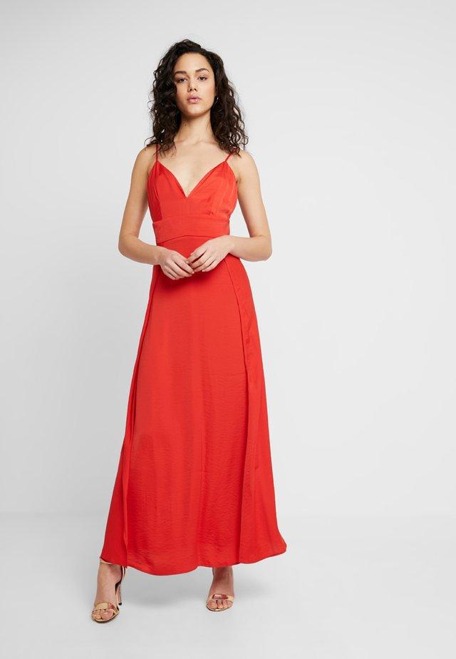 VILAVIGNA MAXI DRESS - Galajurk - flame scarlet