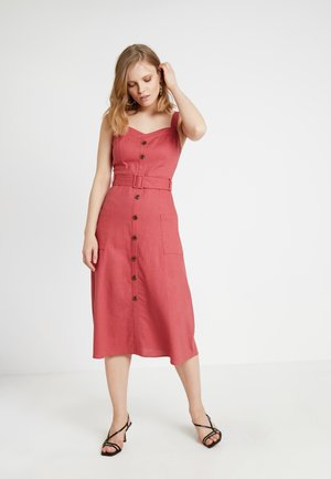 VIOLILIA DRESS - Košilové šaty - ketchup
