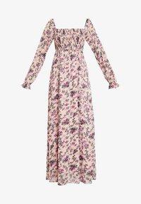 Vila - VISALIA SMOCK MAXI DRESS - Robe longue - ash rose - 5