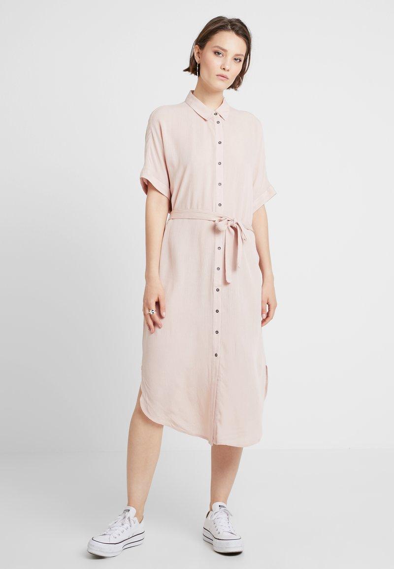 Vila - VIOLEA  - Shirt dress - rose smoke