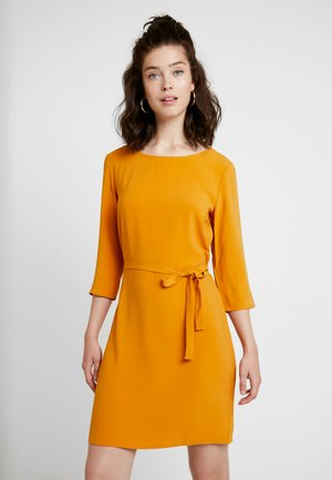 VILAIA  SLEEVE DRESS - Denní šaty - golden oak