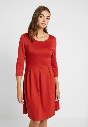 VITINNY  3/4 SLEEVE DOLL DRESS - Jersey dress - ketchup