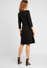 Vila - VITINNY  3/4 SLEEVE DOLL DRESS - Vestito di maglina - black - 2
