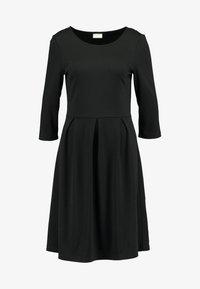 Vila - VITINNY  3/4 SLEEVE DOLL DRESS - Vestito di maglina - black - 3