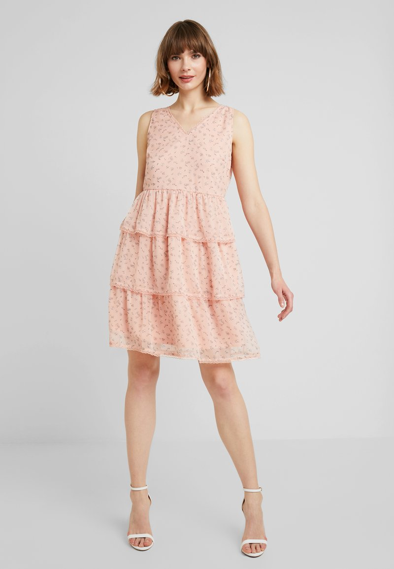 Vila - VIBRIA DRESS - Freizeitkleid - rose smoke