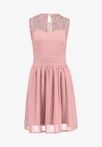 Vila - VISABEL DRESS - Koktejlové šaty/ šaty na párty - brandied apricot - 3