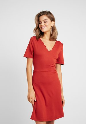 VIRYLIE DRESS - Jerseykjole - ketchup