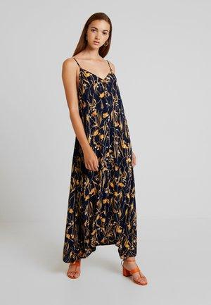 VIALETA ANKLE DRESS - Maxi-jurk - navy blazer/golden rod