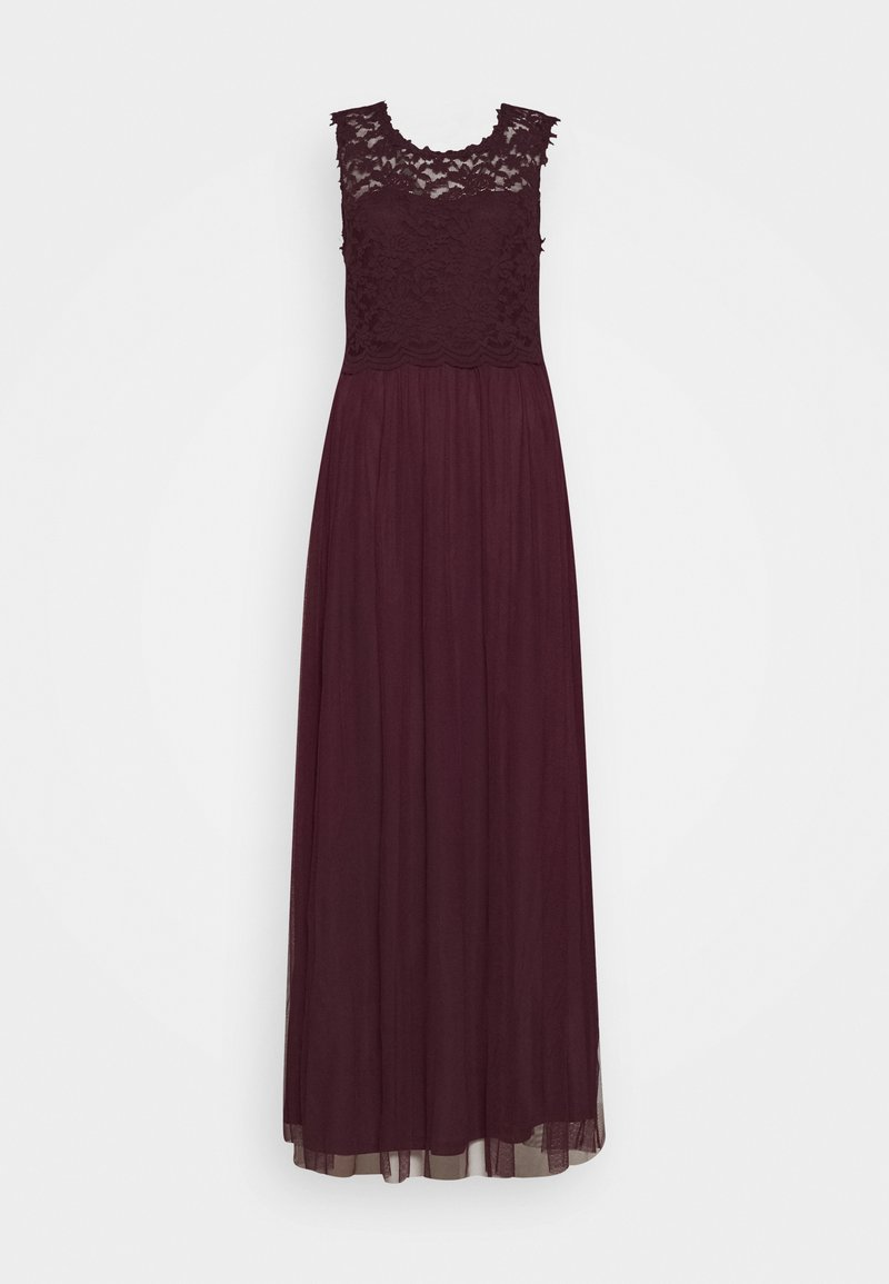 Vila - VILYNNEA MAXI DRESS - Occasion wear - winetasting