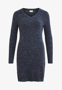 Vila - VIVIKKA  - Jumper dress - dark blue - 0