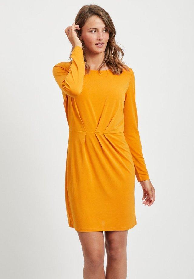 VICLASSY - Korte jurk - gold