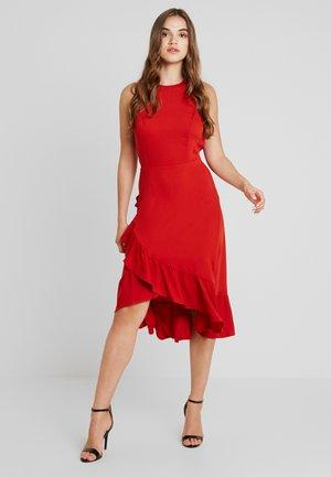 VIMOKAIA DRESS - Denní šaty - ketchup